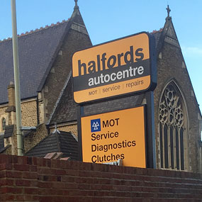 Halfords Autocentre, Aldershot (OSS Managed Services)